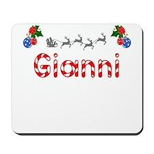 Gianni, Christmas Mousepad