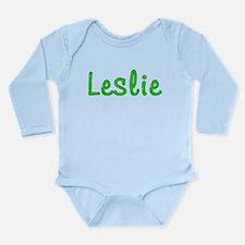 Leslie Glitter Gel Long Sleeve Infant Bodysuit
