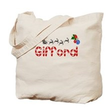 Gifford, Christmas Tote Bag