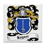Kayser Coat of Arms Tile Coaster