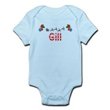 Gill, Christmas Infant Bodysuit