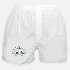 AMBER IS MY IDOL Boxer Shorts