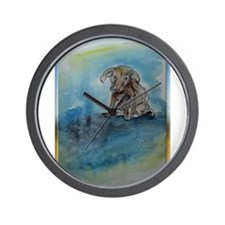 Dog, animal art! Wall Clock