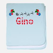Gino, Christmas baby blanket