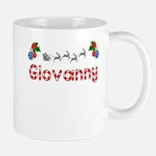 Giovanny, Christmas Mug