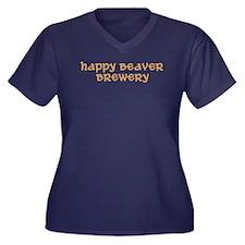 Breweries Women's Plus Size V-Neck Dark T-Shirt