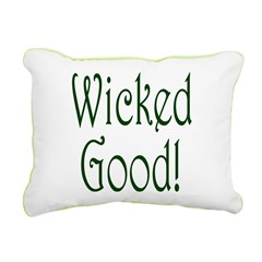 Wicked Good! Rectangular Canvas Pillow