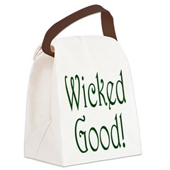 Wicked Good! Canvas Lunch Bag