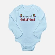 Gottfried, Christmas Long Sleeve Infant Bodysuit