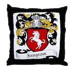 Inngram Coat of Arms Throw Pillow