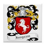 Inngram Coat of Arms Tile Coaster