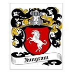 Inngram Coat of Arms Small Poster