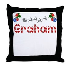 Graham, Christmas Throw Pillow