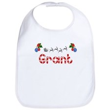 Grant, Christmas Bib