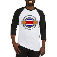 Costa Rica Basketball Baseball Jersey
