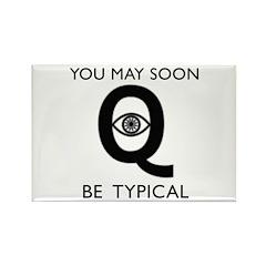 Quantum Eye Rectangle Magnet (100 pack)