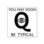 Quantum Eye Square Sticker 3