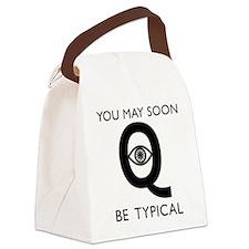 Quantum Eye Canvas Lunch Bag