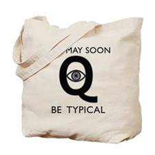 Quantum Eye Tote Bag