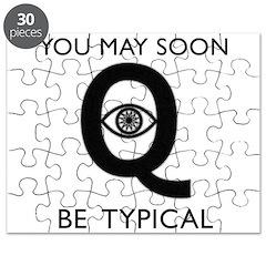 Quantum Eye Puzzle
