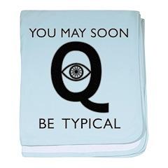Quantum Eye baby blanket