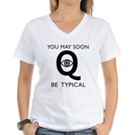 Quantum Eye Women's V-Neck T-Shirt