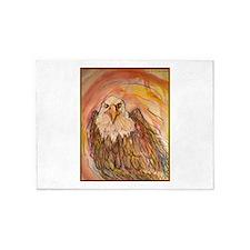 Bald eagle! bird art! 5'x7'Area Rug