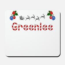 Greenlee, Christmas Mousepad