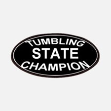 Tumbling State Champion Patches