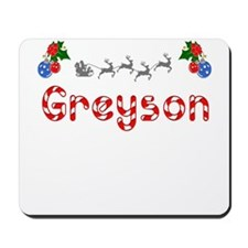 Greyson, Christmas Mousepad