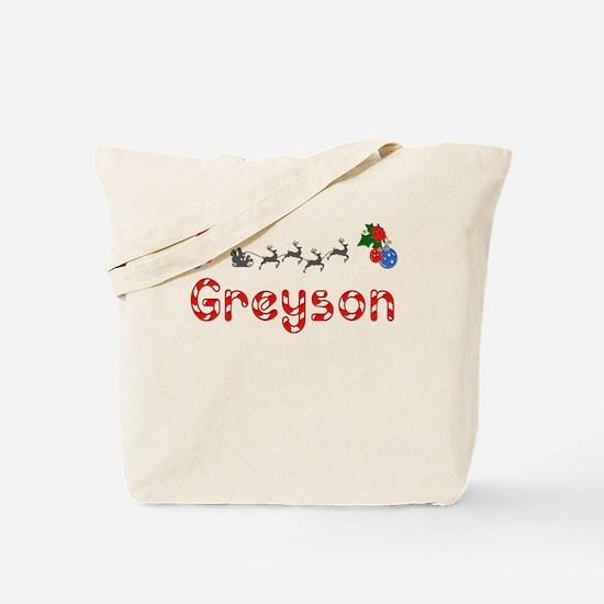 Greyson, Christmas Tote Bag