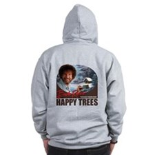 Bob Ross Zip Hoody