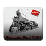 Steam locomotive Mouse Pads