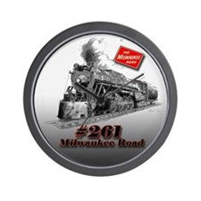 Milwaukee Road #261 Wall Clock