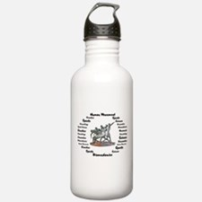 Sports Science Logo Sports Water Bottle