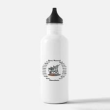 Sports Science Logo Water Bottle