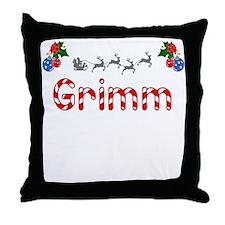 Grimm, Christmas Throw Pillow