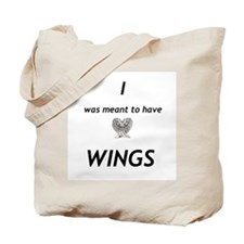 Maximum Ride - I was meant to have wings Tote Bag