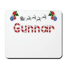 Gunnar, Christmas Mousepad
