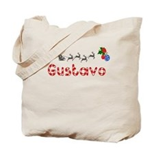 Gustavo, Christmas Tote Bag