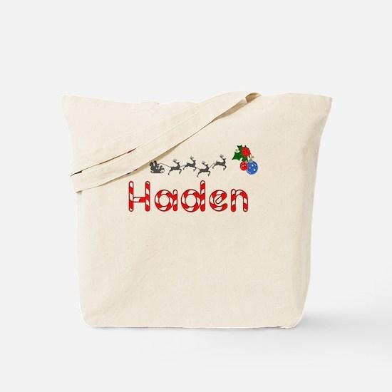 Haden, Christmas Tote Bag