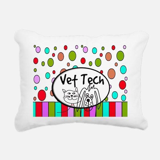 Vet Tech Tote 2.PNG Rectangular Canvas Pillow