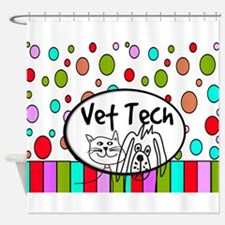 Vet Tech Tote 2.PNG Shower Curtain