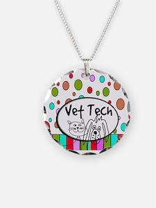Vet Tech Tote 2.PNG Necklace