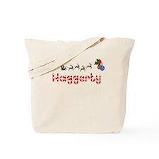 Haggerty, Christmas Tote Bag