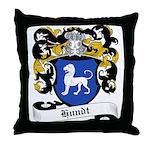 Hundt Coat of Arms Throw Pillow