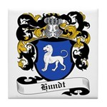 Hundt Coat of Arms Tile Coaster