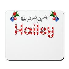 Hailey, Christmas Mousepad