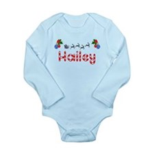 Hailey, Christmas Long Sleeve Infant Bodysuit