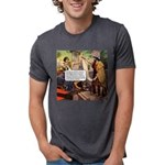 dodgy_tile.png Mens Tri-blend T-Shirt